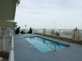 Oceans Pointe Ocean City condo photo - Northern View - Pool (just steps away from beach)