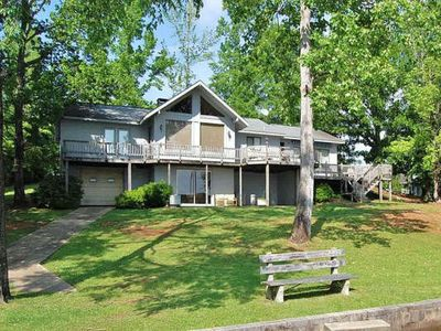 Riverbend is a Terrific Lake Front Home