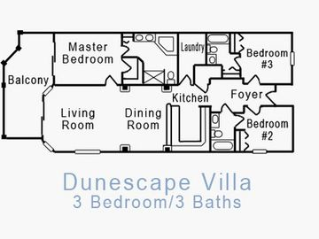 Dunescape Floor Plan