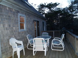 Truro house photo - Deck