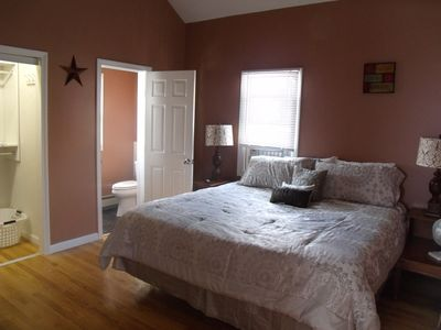 The same 2nd bedroom as a king with 1/2 bath split bedrooms great for 2 couples