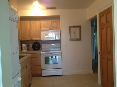 Manasota Key apartment rental - kitchen view