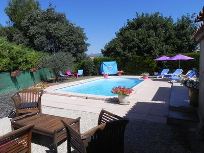 Accommodation near the beach, 140 square meters, with pool