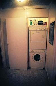 In-unit full size washer & dryer
