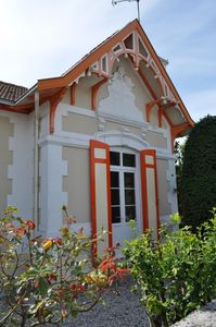 Arcachon house with garden, near the city center and port Larros