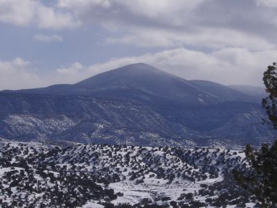 Abiquiu in Winter
