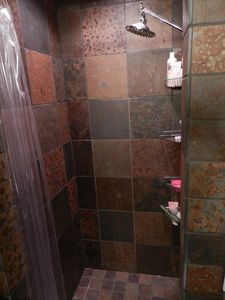 Rain Shower in Second Bathroom