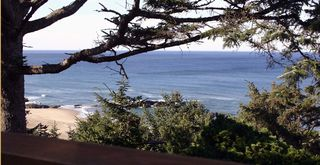 Lincoln City house photo - Panoromic ocean view from Beach House and Deck