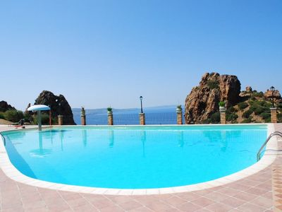 Sardinia - Charming cottage in the village facing the sea with swimming pool and park