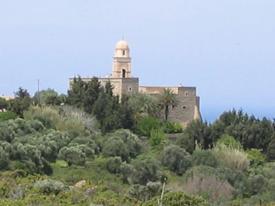 nearby (2 km ) Toplou Monastery
