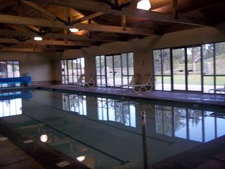 Eagle Crest townhome photo - Ridge Indoor heated pool. two outdoor pools also available.