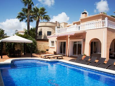Superb Villa With Private Pool, 1 Minute Walk From The Sandy, Blue Flag, Cala Ca