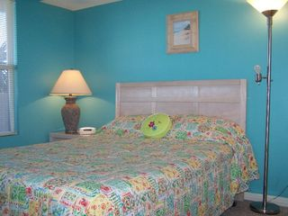 Fort Morgan condo photo - Bedroom with queen-size bed