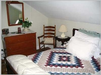 One of our guest rooms.
