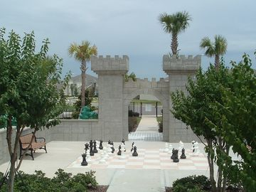 Resort Park with Giant Chess Board