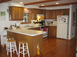 Oak Bluffs house photo - Full Kitchen and Counter Bar
