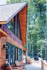Blue Ridge cabin photo - Main Deck