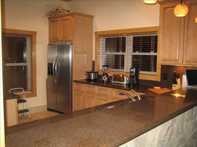 Kitchen has all of the state of the art appliances!