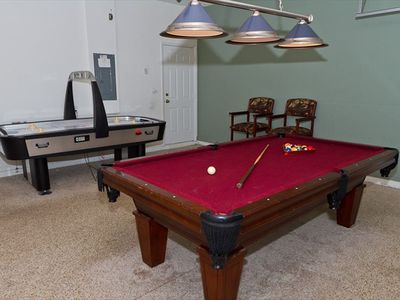 Air Conditioned Game Room!