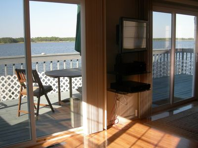 Ocean Pines cottage rental - View to Sundeck