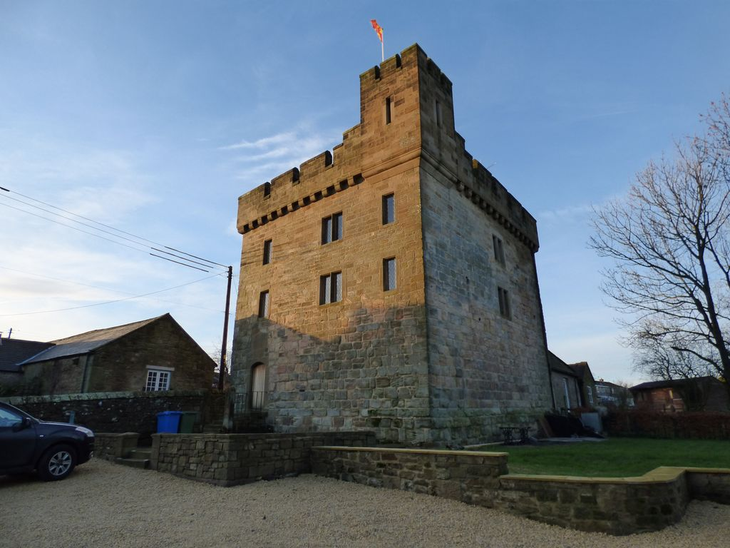 Fortified northumberland tower your own castle in the for Tower house for sale