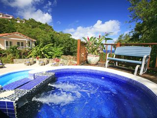 Cap Estate villa photo - Ocean View from Jacuzzi
