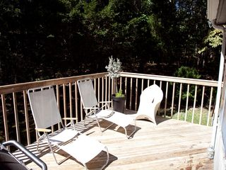 Sag Harbor house photo - outdoor deck