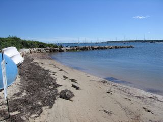 Mattapoisett house photo - Private Beach for Both Houses