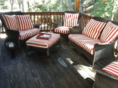 Mid-Level Deck -- Perfect for Reading Your Favorite Book or Magazine