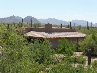 Scottsdale North house photo - View of Guest House with Mountains