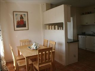 County Mayo cottage photo - Full view of Kitchen and winter dining area with fully equipped Kitchen