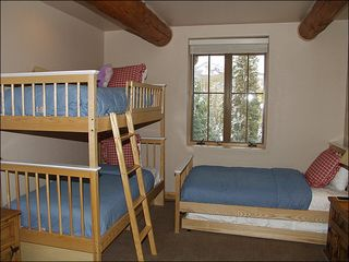 Mountain Village house photo - Fourth Bedroom with Twin Bunks, Twin and Trundle