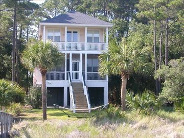 Fripp Island house rental - View from the back of the house