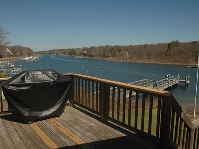 Falmouth house rental - Another deck with Gas Grill