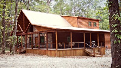 3br cabin vacation rental in broken bow oklahoma 67977 for Vacation cabin rentals in oklahoma