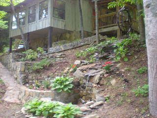 Ellijay cabin photo - Water wheel in action!