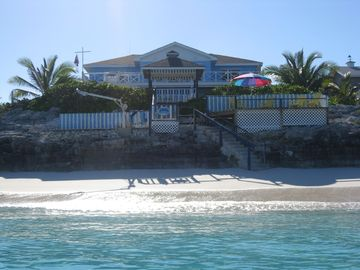 Great Exuma house rental - View from the ocean
