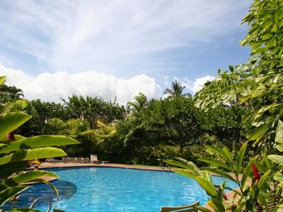 The Wailea Ekolu Pool is very private and close to your door.