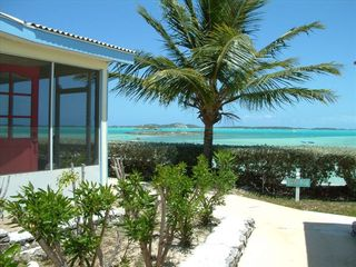 Great Exuma villa photo - A Great view of Elizabeth Harbor & Stocking Island - w/screened-in veranda!