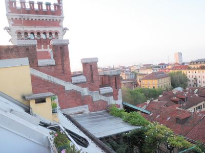 Milan: attic downtown historic area Wi Fi free