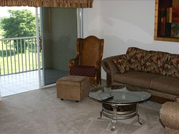Living Room/Lanai Area