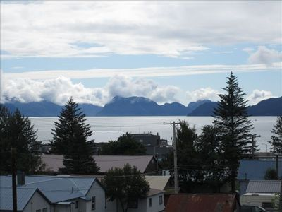 Great location in downtown with spectacular views of bay and mountains