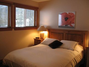 Master Bedroom (with ensuite and walk-in closet) has view of Timber Bowl runs