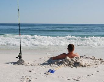Take time to relax and enjoy the sugar white sands and the best fishing around.