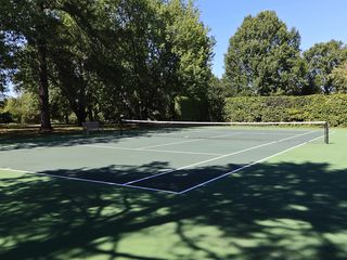 Oxford house photo - Tennis court set in secluded, wooded area