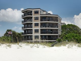 St Pete Beach condo photo - Building from beach