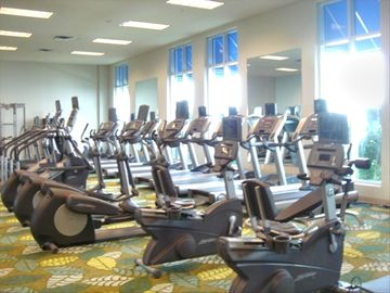 Workout and Exercise Area