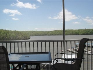 Osage Beach condo photo - View of lake from the deck