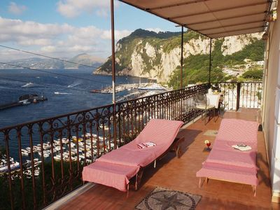 Holiday house in Capri with a breathtaking view