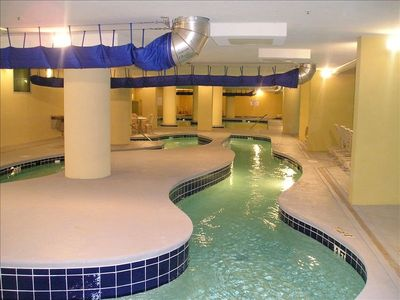 Lazy River and Indoor Pools